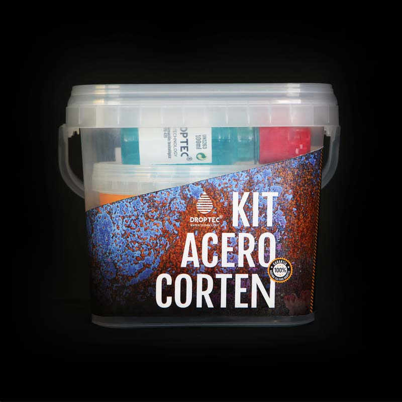 kit acero corten ml